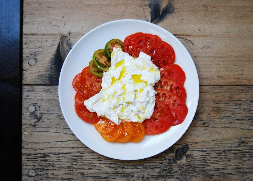 burrata & tomatoes web